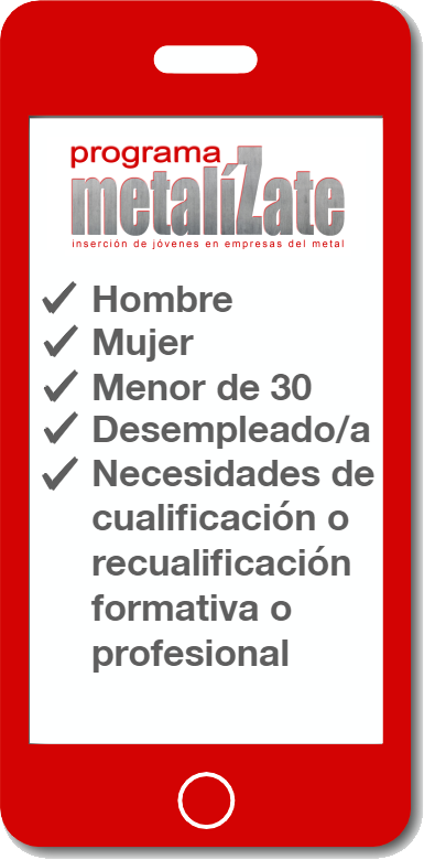 metaliZate_MovilRequisitos