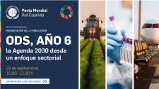 JORNADA ONLINE: ODS, AÑO 6. LA AGENDA 2030 DESDE UN ENFOQUE EMPRESARIAL